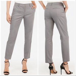 Express Pants - Express Mid Rise Ankle Columnist Pant Pale Pink 6